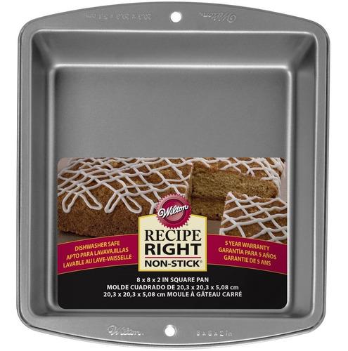 Imagen 1 de 5 de Molde Torta Cuadrado Brownies Galletitas Wilton Titanweb