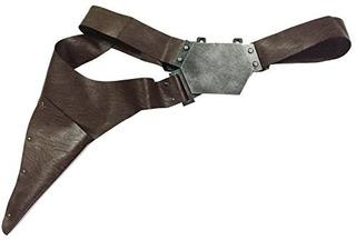 Xcoser Han Solo Cinturon Con Hebilla Funda Hecha A Mano De L