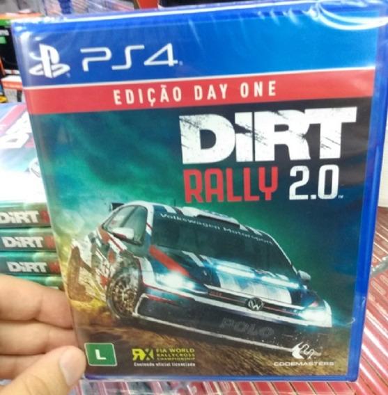 Dirt Rally 2.0 Ps4 Mídia Física Pronta Entrega Lacrado Novo