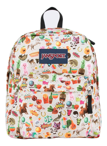 Mochila jansport spring break  blanca