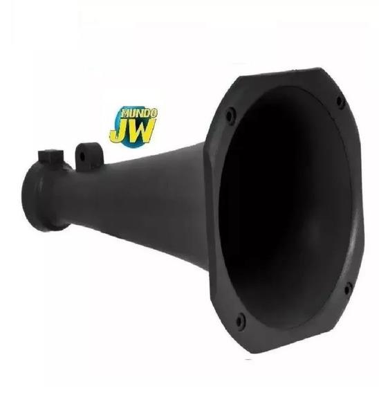 Difusor Bocina Corneta Larga Negra Para Driver 25cm