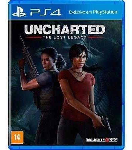 Jogo Sony Uncharted The Lost Legacy Ps4 Blu-ray Mídia Física