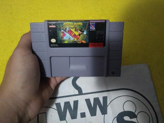 Super Nintendo - Mickey Mania 100%original