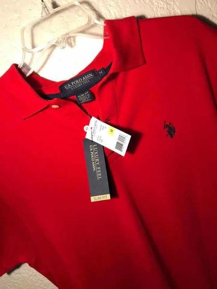 Camisa Tipo Polo Talla M Ralph Lauren