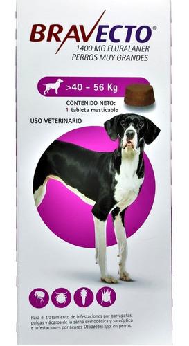 Pastilla Masticable Anti Pulgas Perro 40-56kg 3 Meses Msd