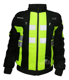 Chaqueta Mickaelson Moto Motociclista Reflectiva