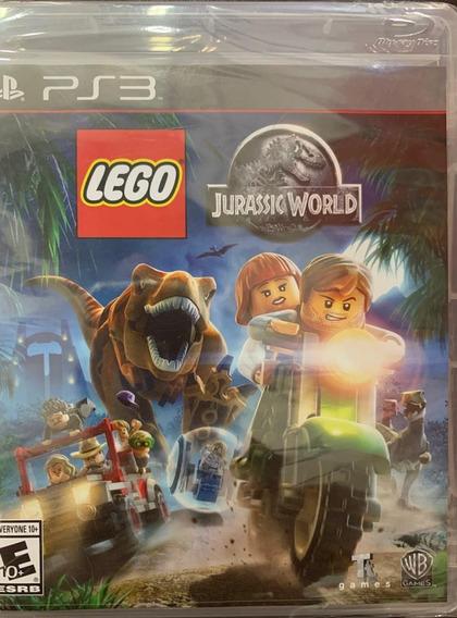 Jogo Lego Jurassic World Ps3 Midia Fisica