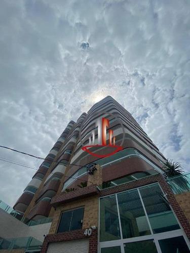 Belíssimo Apartamento De 2 Dormitórios E 1 Suíte À Venda, 89 M² Por R$ 360.000 - Caiçara - Praia Grande/sp - Ap2201