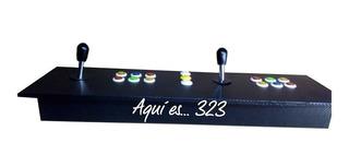 Tablero Árcade Doble + 8mil Juegos Clásicos En Usb
