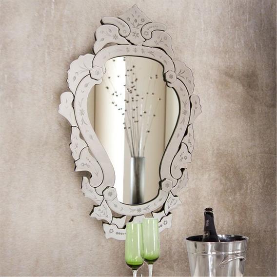 Espelho Vitoriano Para Sala Estar Grande Vintage Decorativo
