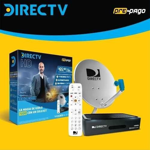 Decodificador Directv Hd Kit Nuevos Plan Gold +antena