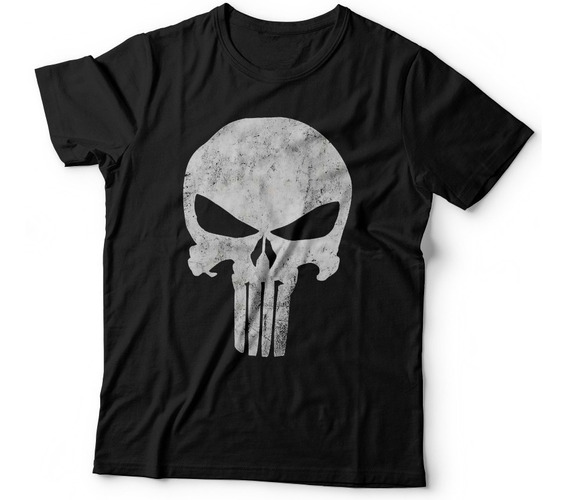 Remera Punisher El Castigador Superheroes Comics Marvel