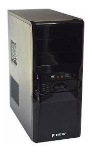 Máquina Cpu Nova Core I3 8gb Hd 500+ Frete E Office E Wi-fi