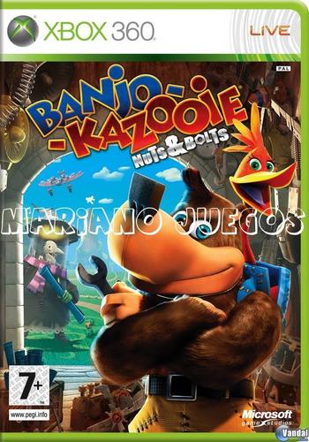 Banjo Kazooie Nuts And Bolts Xbox 360 Juego Original Digital