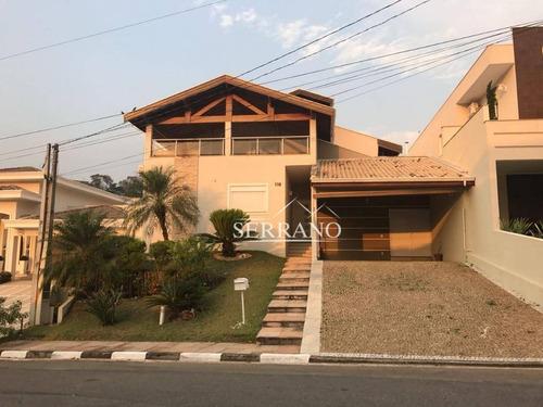 Casa À Venda, 306 M² Por R$ 1.400.000,00 - Condomínio Recanto Dos Paturis - Vinhedo/sp - Ca0317