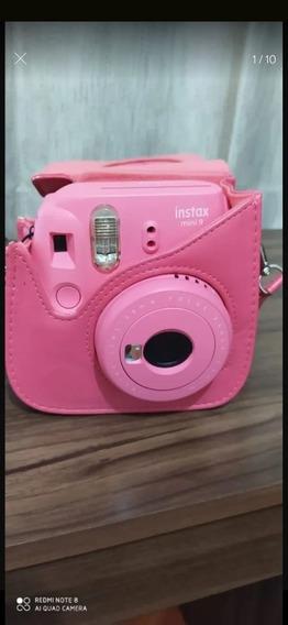 Câmera Instax Mini 9 Rosa
