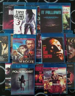 Blu Ray Lote 19 Películas De Terror