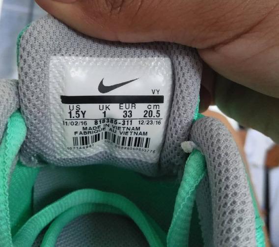 Zapatillas Nike Flex Niñas 1.5y Talla 33
