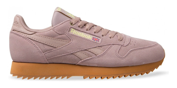 Tênis Reebok Classic Leather Montana Canvas Rose,imediato