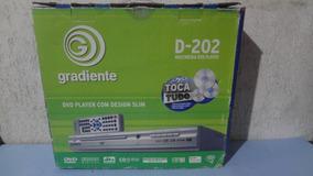 Dvd / Cd / Mp3 Player Gradiente D-202 - Na Caixa