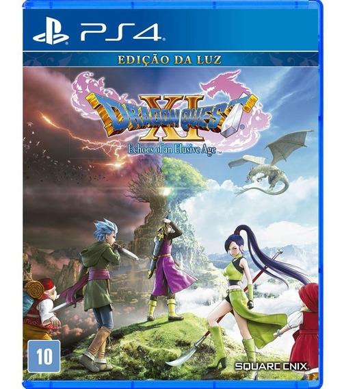 Dragon Quest Xi Edição Da Luz (ps4) Mídia Física - Nv