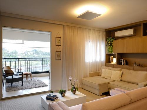 Apartamento Moderno De 92 M² Planejado Com Varanda Gourmet