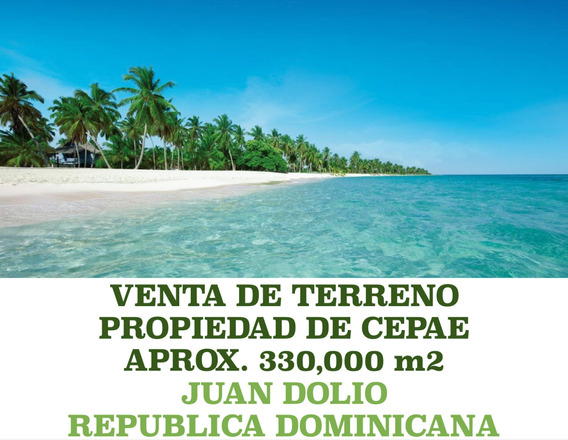 Terreno En Juan Dolio, Rd - Aprx 330,ooo M2 - 21.00 X M2