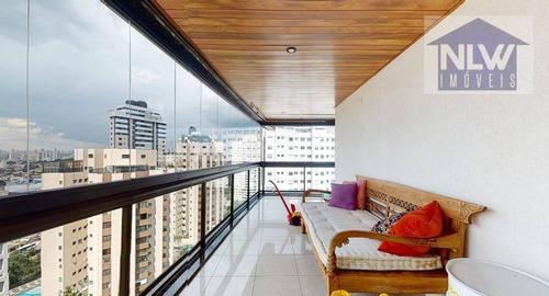 Imagem 1 de 30 de Apartamento Com 3 Dormitórios À Venda, 374 M² Por R$ 4.500.000,00 - Vila Mariana - São Paulo/sp - Ap3490