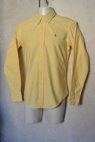 Camisa Niño Ralph Lauren Talla 8 Original Crema