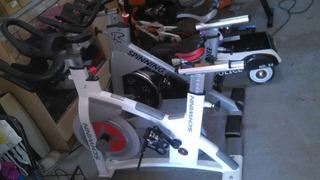 Bicicleta De Ejercicio,ajustable,estacional