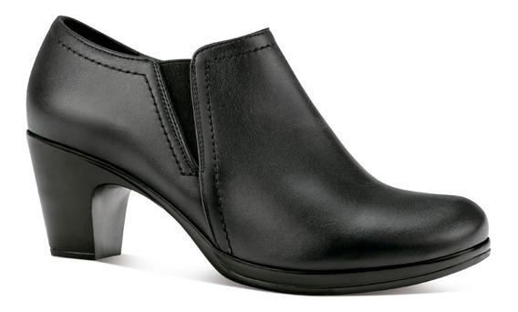 Vitalia Zapatos Tacon Cuña Confort Elastico Vestir 2142