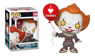 Figura Muñeco Funko Pop Pennywise With Balloon It 780 Orig