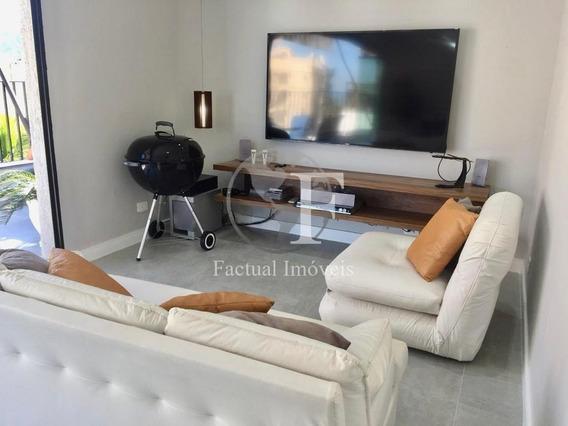 Cobertura Com 3 Dormitórios À Venda, 120 M² - Enseada - Guarujá/sp - Co0728