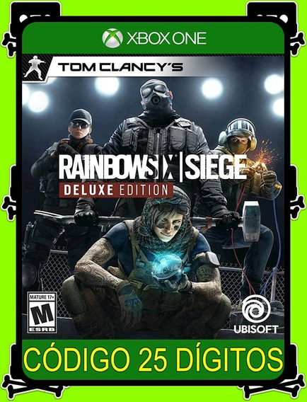 Tom Clancys Rainbow Six Siege Deluxe - Original (25 Dígitos)