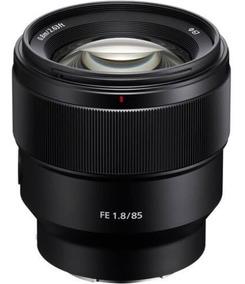 Lente Sony Fe 85mm F/1.8 E-mount Para Câmeras Sony