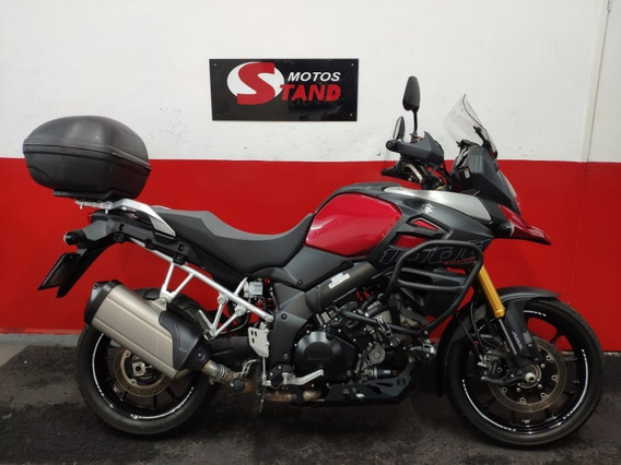 Suzuki V Strom Vstrom V-strom 1000 Abs 2018 Vermelha