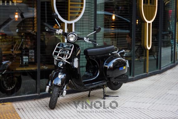 Moto Electrica Sunra Vintage Vespa Cuotas Gob 16% Viñolo /a