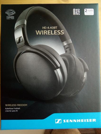 Fone Novo Sennheiser Hd 4.40 Bt Bluetooth Wireless Headphone