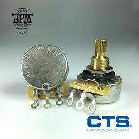 Potenciometro Cts 250k B Linear Short Split Shaft Com Nf