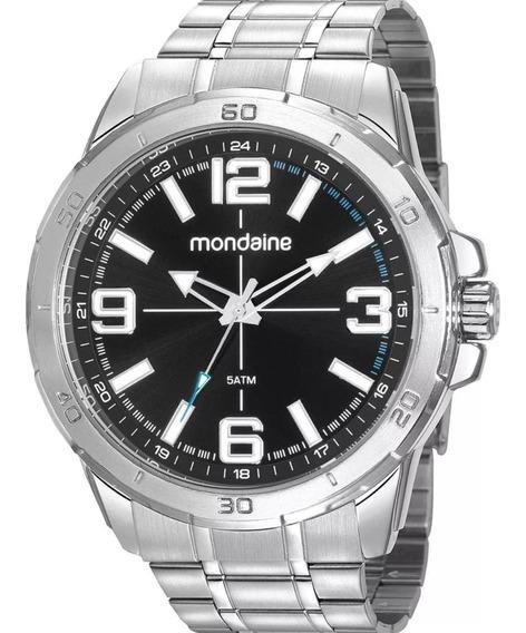 Relógio Masculino Mondaine 5atm Lançamento Original Nf