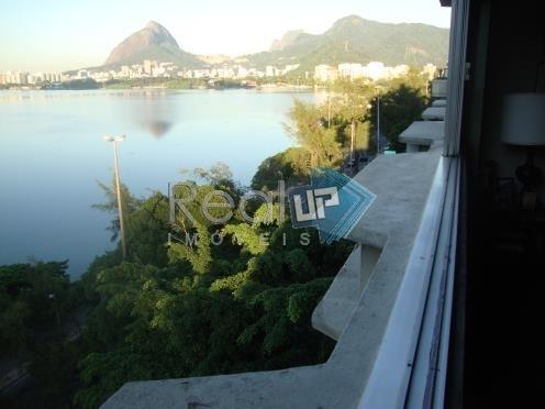 4 Quartos Com Vista Mar E Lagoa Na Borges De Medeiros Leblon - 2571