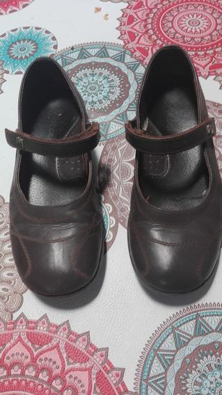 Zapatos Marrones Marcel Guillermina. Talle 37