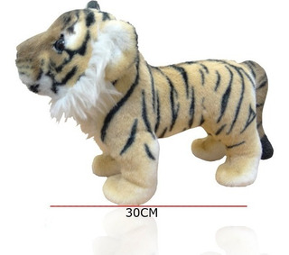 Tigre De Peluche Muy Real Calidad Insuperable