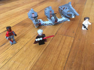 Lego Star Wars Número Desconocido