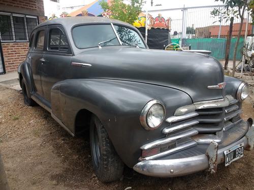Chevrolet 47. Auto Antiguo Colección. Escucho Oferta