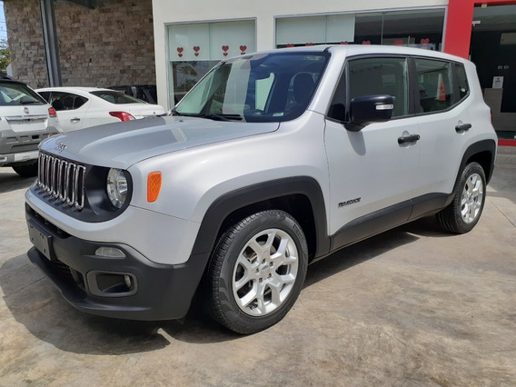 Jeep Renegade 1.8 Sport 4x2 At Plata Glaciar