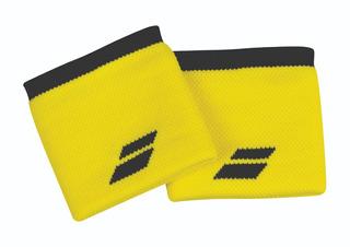 Muñequera Babolat Logo Wristband Amarillo
