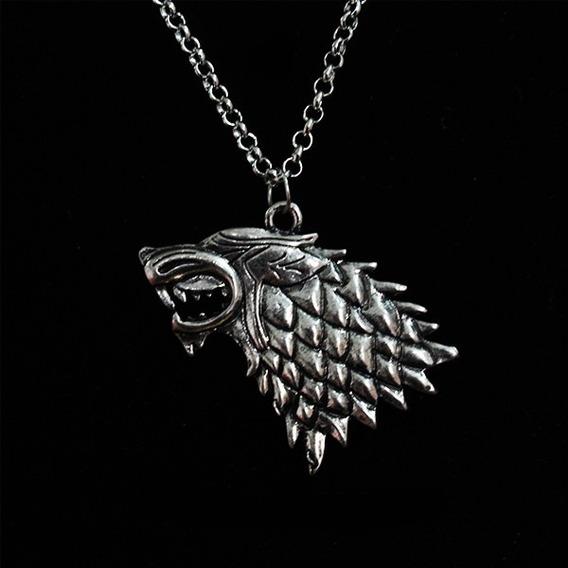 Colar Cordão Seriado Game Of Thrones - Stark Got Netflix Hbo