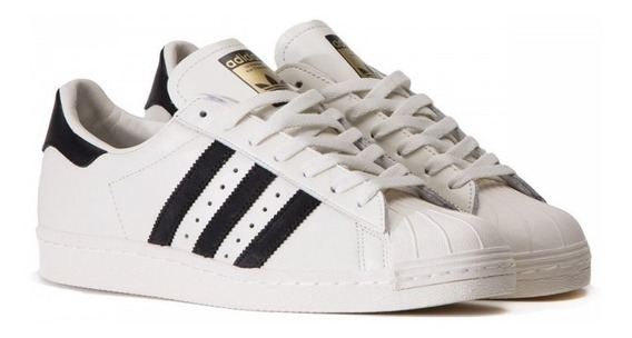 Tenis Adiiidas Superstar Foundation Feminino Couro Original