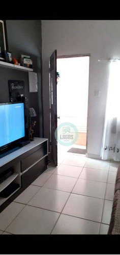Imagem 1 de 14 de Casa Com 3 Dormitórios À Venda, 120 M² Por R$ 350.000,00 - Vila Humaitá - Santo André/sp - Ca0185